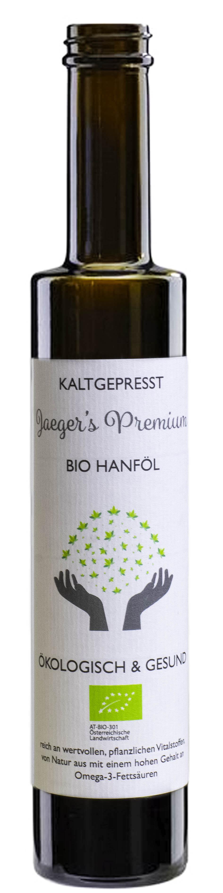 hanföl bio jaeger premium hemp oil